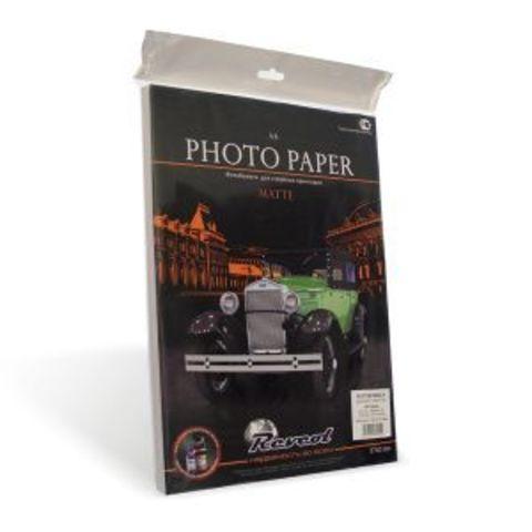 Фотобумага, матовая двухсторонняя, A4, 140г/м2, 100 л.