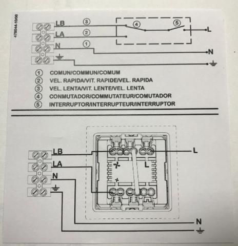 Переключатель скорости Soler & Palau Regul-2