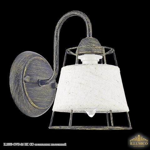 IL2353-1WB-26 BK GD светильник настенный
