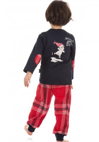 Комплект для мальчика с заплатками на рукавах