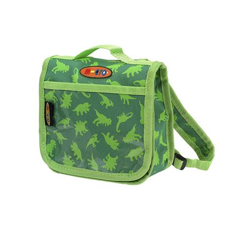 Сумочка-рюкзак Micro. Скутерозавры. Зеленая