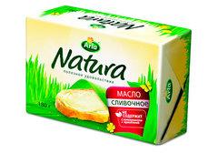 Масло сливочное Arla Natura, 180г