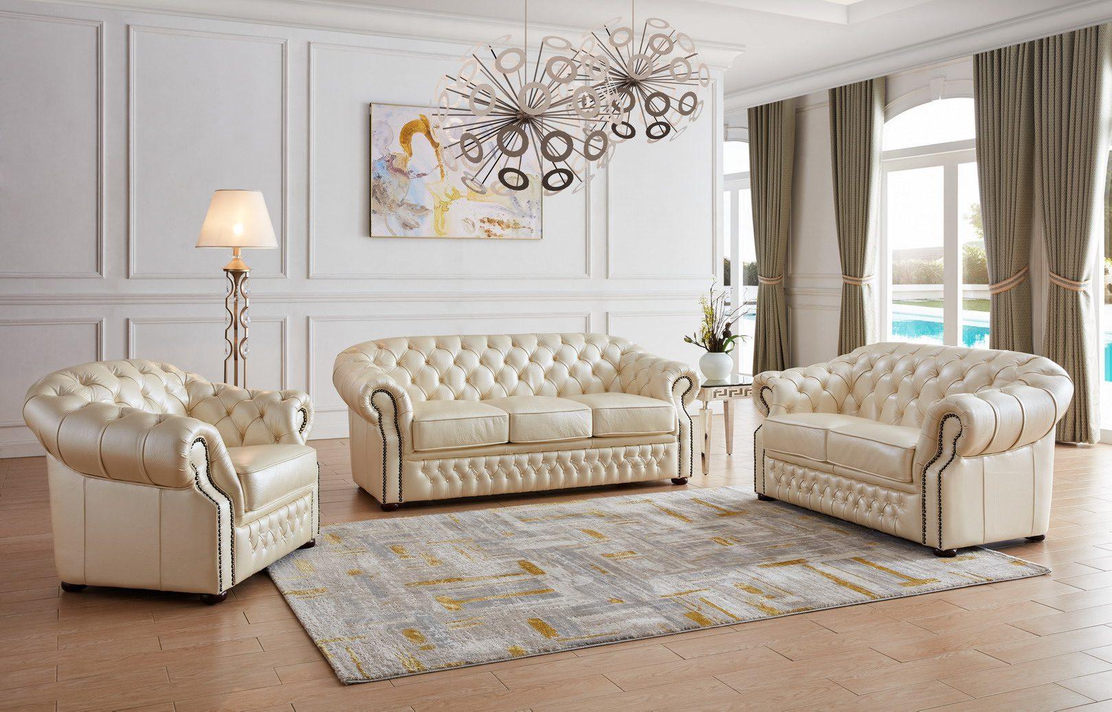 Комплект мягкой мебели  ESF В-128 бежевый