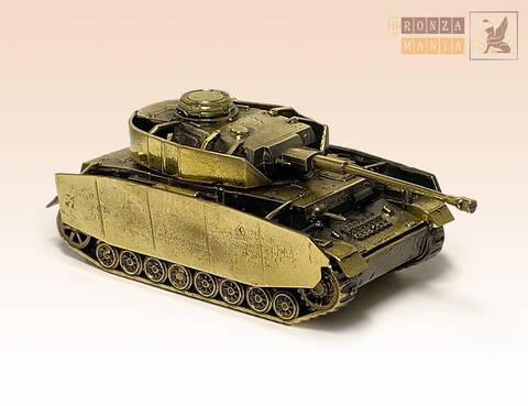 фигурка танк Panzer IV Ausf.H (1:100)