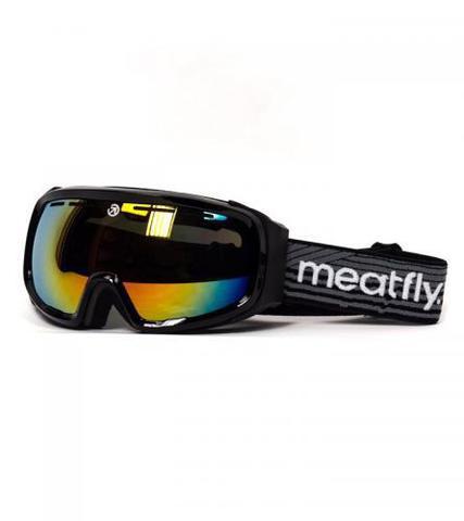 Сноубордическая маска Meatfly Attos (black)