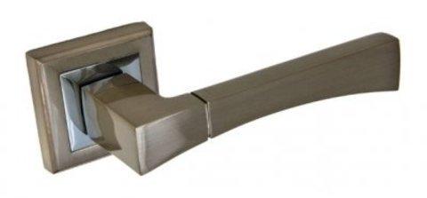 Фурнитура - Ручка Дверная  Palidore A-201, цвет белый никель