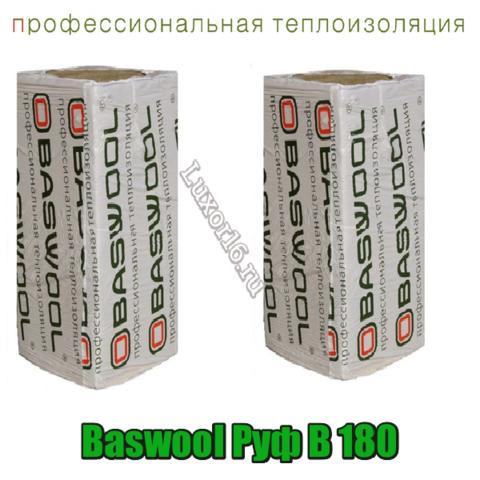 Baswool Руф В 180 размеры 1200*600мм толщина 40-150мм