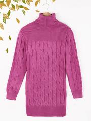 2011-4 туника женская, розовая
