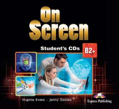 On Screen B2+. Student's CD's (set of 2) REVISED. Аудио CD для работы дома