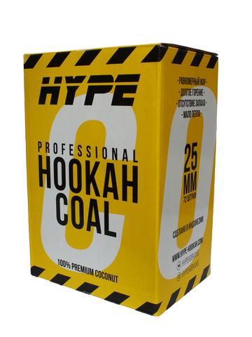 Уголь кокосовый «HYPE» 25 мм (72 шт., 1 кг.)