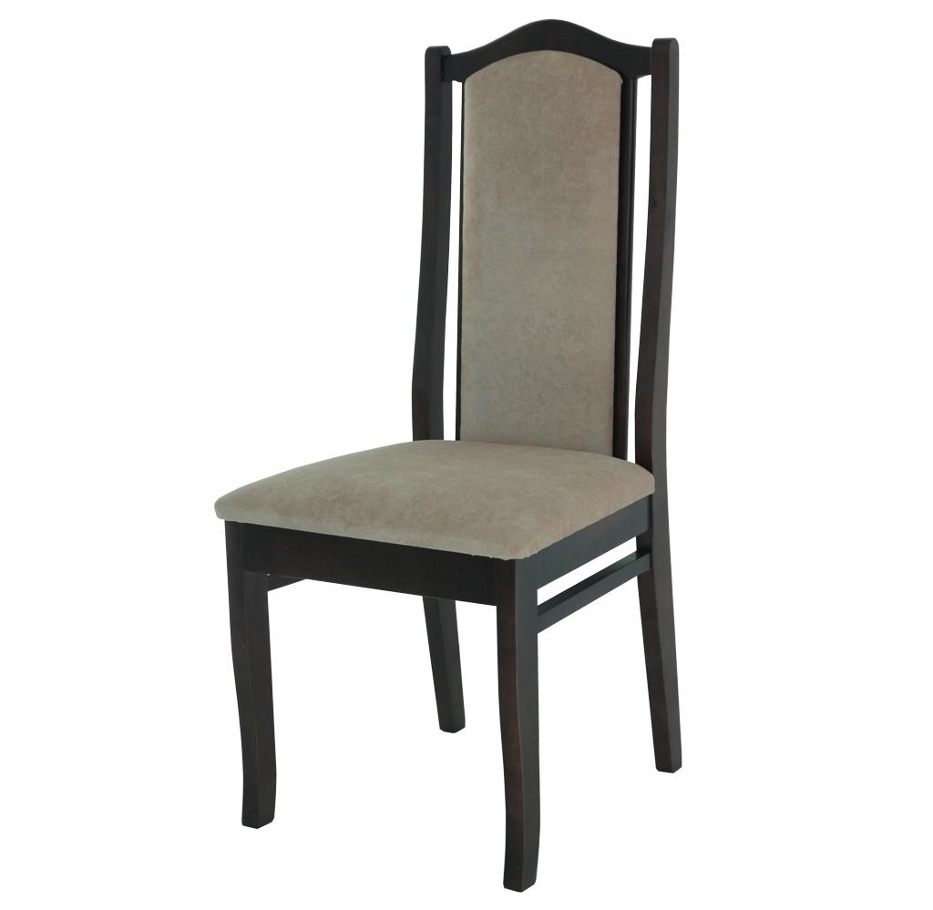 деревянный стул с мягкой спинкой