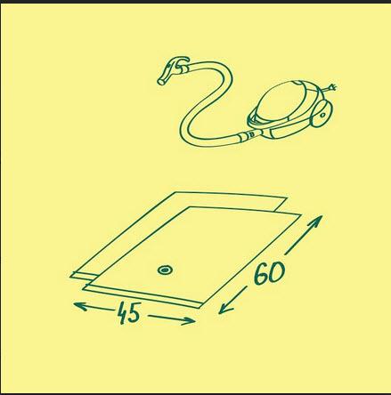 Пакет вакуумный 45*60 (2шт)