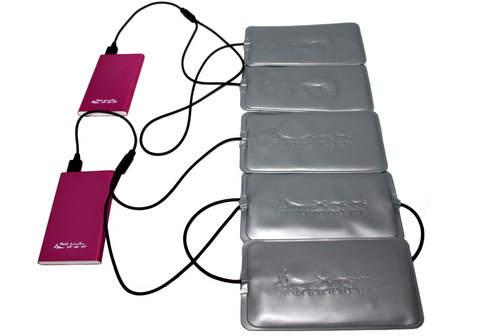 Греющий комплект Redlaika ЕСС ГК5-USB (5 модулей+PowerBank)