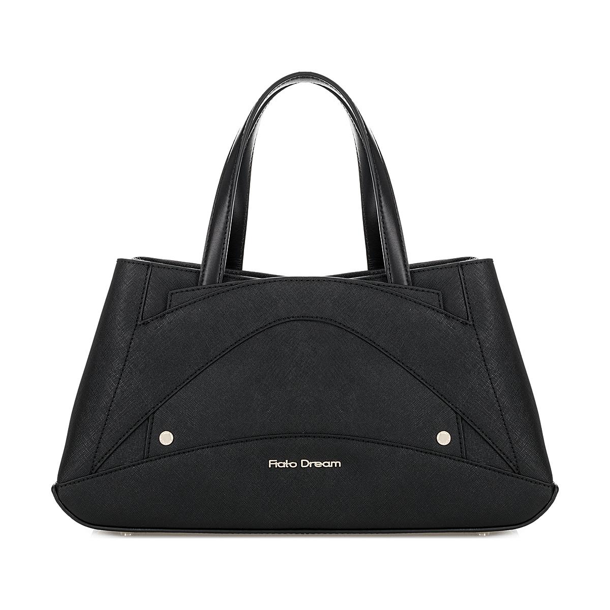 2166 FD саффиано черный  (сумка женская)