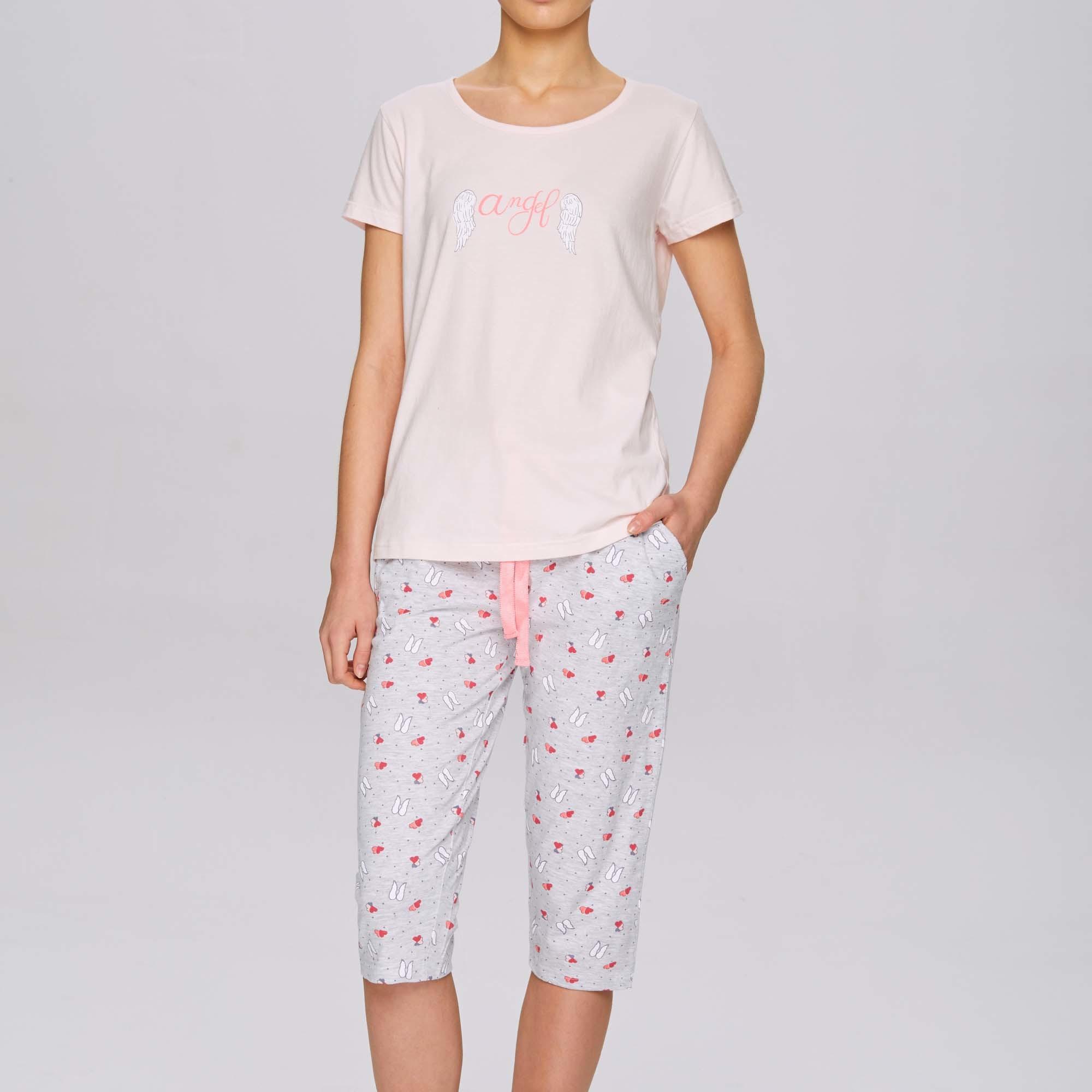 Пижама с короткими брюками NLP-465