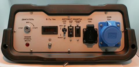 Панель контрольная DDE DPG10551E