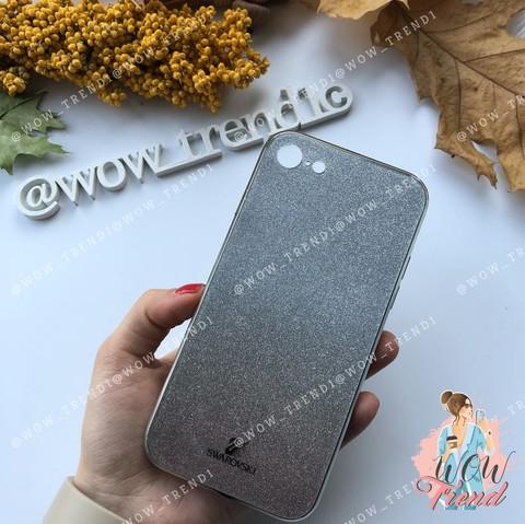 Чехол iPhone 7/8 Plus Swarovski Case /black/