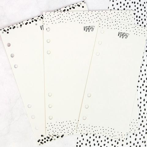 Пластиковые листы для записи и стирания My Prima Planner Dry Erase Board Inserts