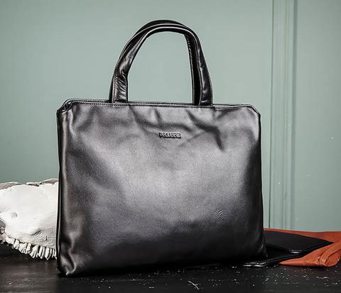 Мужская деловая сумка из натуральной кожи