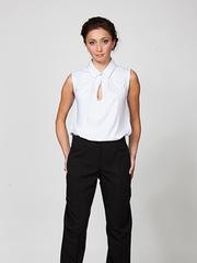 B184-1 блузка женская, белая