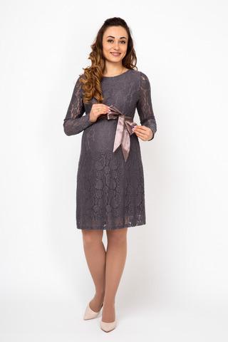 Платье 08194 коричневый