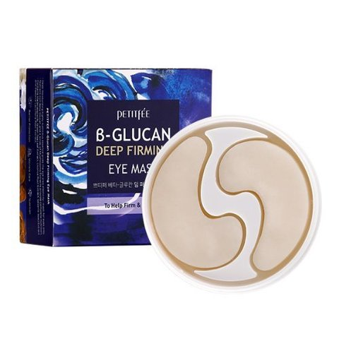 Патчи для глаз PETIFEE B-Glucan Deep Firming Eye Mask 70g