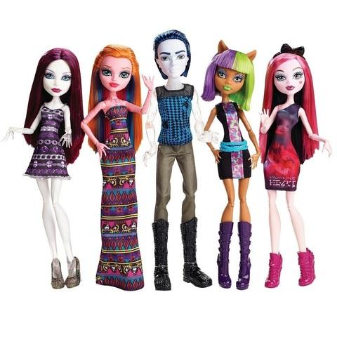 Набор из 5 кукол в В торговом центре