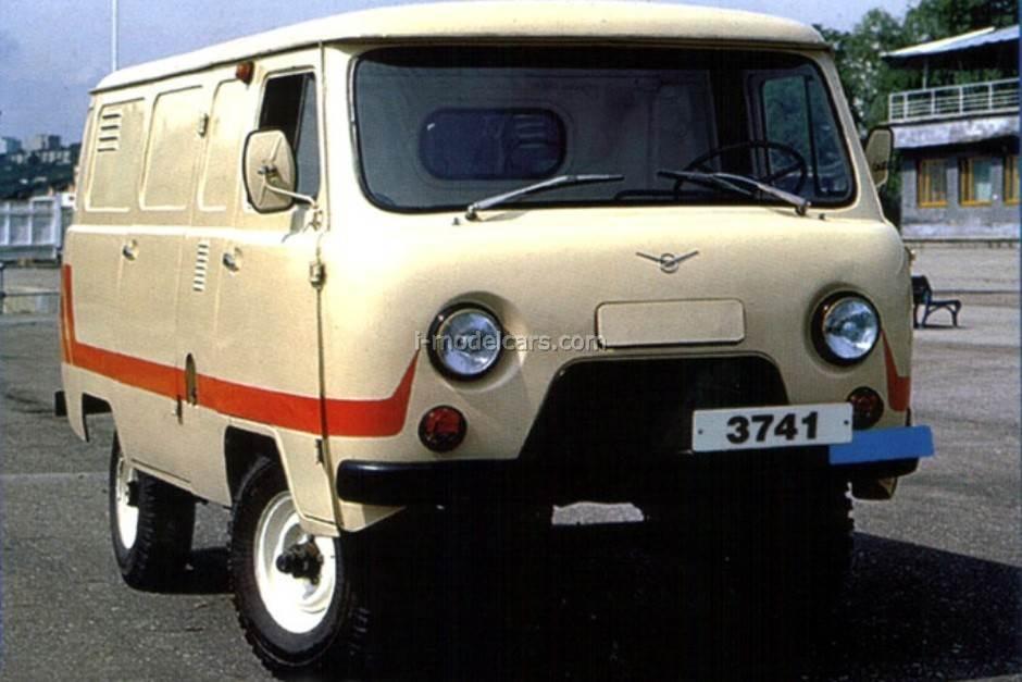 UAZ-3741 white 1:43 DeAgostini Auto Legends USSR #197