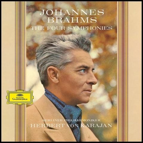 Berliner Philharmoniker, Herbert von Karajan / Brahms: The Four Symphonies (4LP)