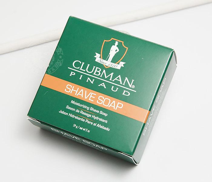 RAZ28005 Натуральное мыло для бритья Clubman Shave Soap (60 гр) фото 02