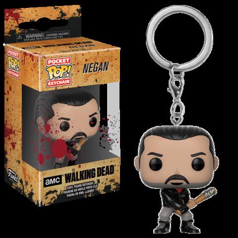 Брелок Funko Pocket POP! Keychain: The Walking Dead: Negan 21189-PDQ