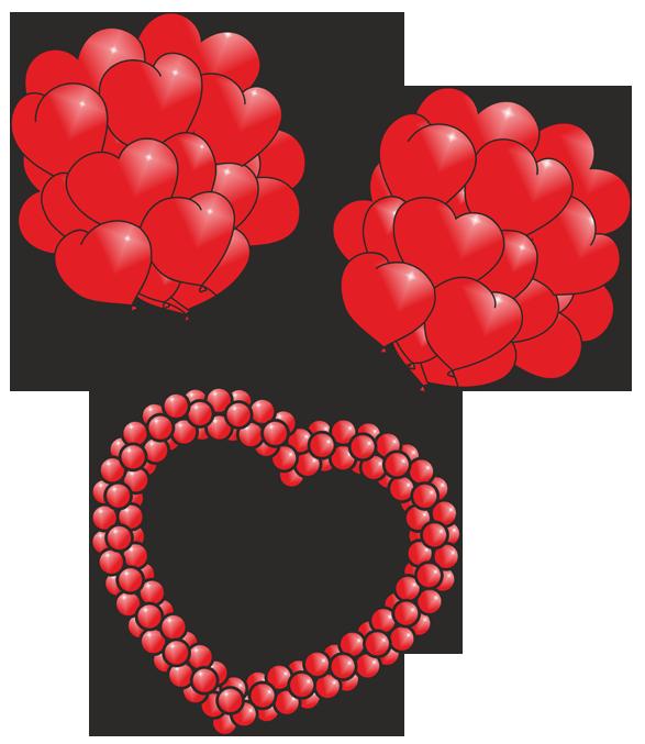 Запуск сердца из шаров