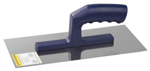 Гладилка ЗУБР нержавеющая с пластиковой ручкой, 130х280мм