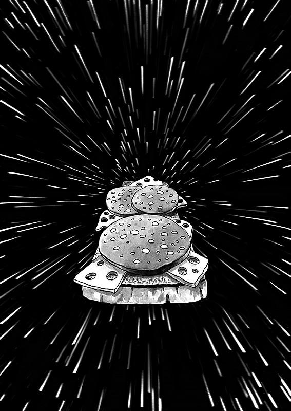 Hyperspace Sandwich