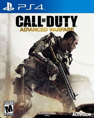 Sony PS4 Call of Duty: Advanced Warfare (русская версия)