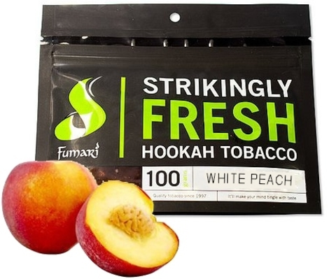 Табак Fumari 100 г White Peach