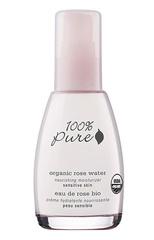 Органический питательный крем для лица «Розовая вода», 100% Pure
