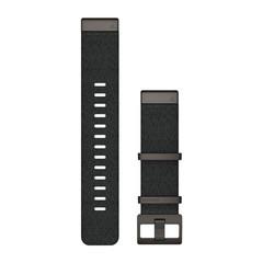 Нейлоновый ремешок QuickFit 22 для Garmin MARQ (черный) 010-12738-03