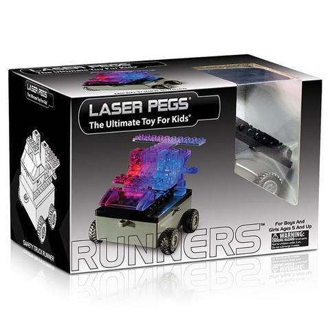 Конструктор Laser Pegs «Военная машина» 6 в 1 (1320A)