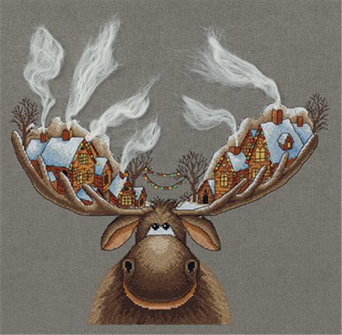 Рождественский лось