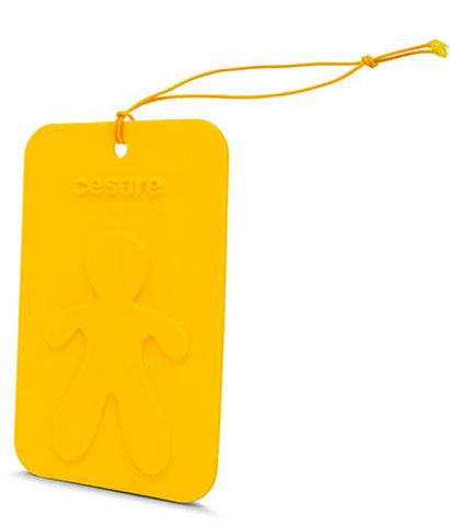 Аромакарточка для автомобиля и гардеробной Cesare Ваниль (желтый), Mr&Mrs Fragrance