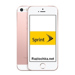 USA - Sprint iPhone SE