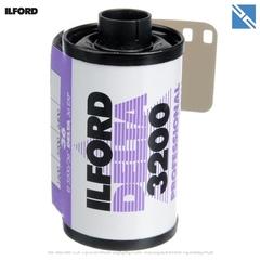 Фотопленка Ilford Delta 3200 Professional черно-белая негатив (35мм, 36 кадров)