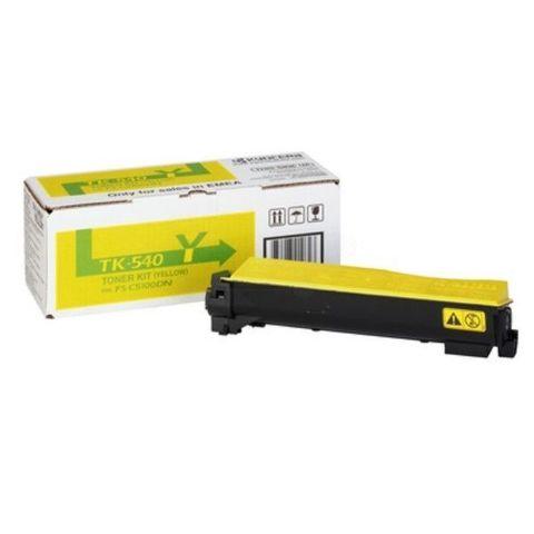 Kyocera TK-560Y - желтый тонер-картридж для принтеров Kyocera FS-C5300DN, FS-C5350DN. Ресурс 10000 страниц
