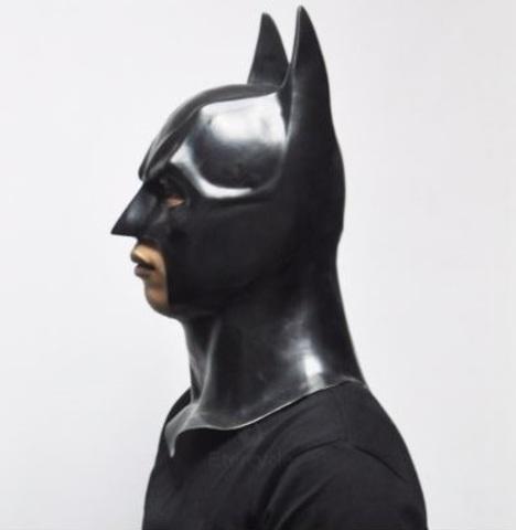 Маска Бэтмен Летучая мышь латексная
