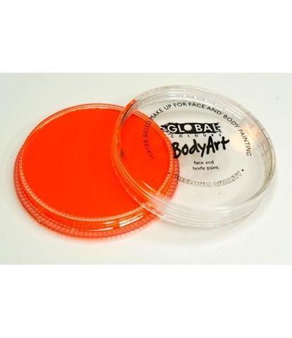 Аквагрим Global неоновый оранжевый 32 гр