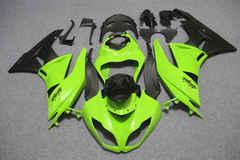 Комплект пластика для мотоцикла Kawasaki ZX-6R 09-12 Зелено-Черный