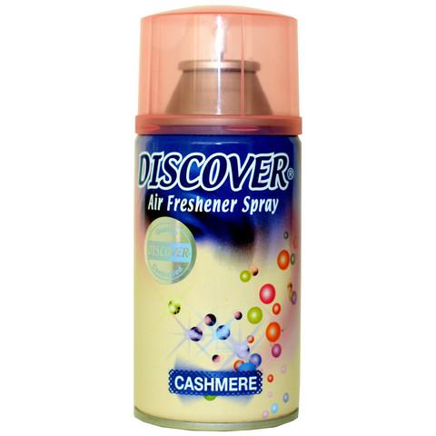 Освежитель воздуха DISCOVER Cashmere(Кашемир) 320 мл. спрей(сменный баллон)
