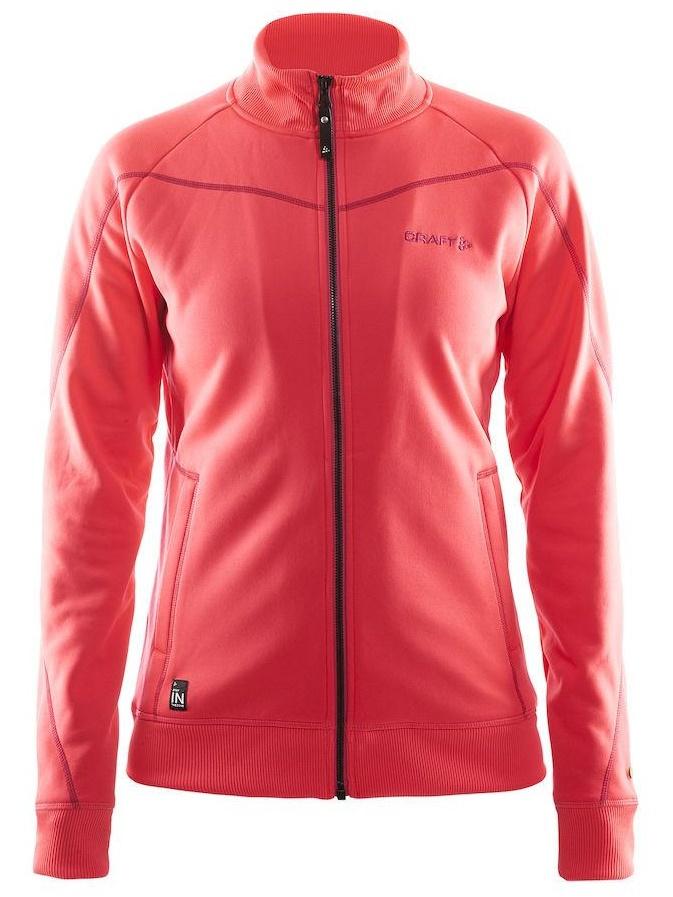 Куртка флисовая женская Craft In the Zone (1902637-2410) красный