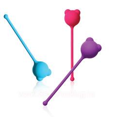 Вагинальный шарик из силикона, Lola Toys Emotions Roxy (2,6 см; вес 34 гр)